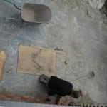Tuinaanleg in uitvoering