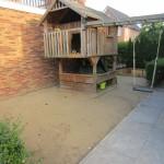 Afbanen van zandbedding