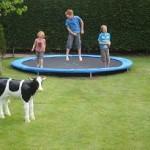 trampoline plaatsen