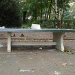 tennistafel plaatsen